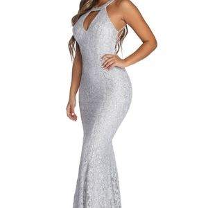 formal strappy sequin dress